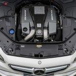 Mercedes S 63 AMG Coupe 5.5-litre biturbo V8 engine