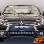 Mitsubishi Lancer facelift front with revolutionary styling leaked