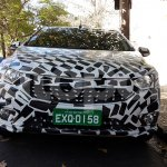 New Chevrolet Onix (facelift) front spy shot
