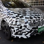 New Chevrolet Onix (facelift) front three quarters right side spy shot