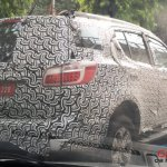 New Chevrolet Trailblazer (facelift) rear spied