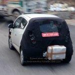 Next-gen Chevrolet Beat rear spied testing by IAB reader