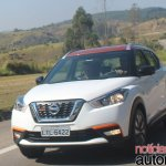Nissan Kicks driving shot