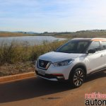 Nissan Kicks front three quarters left side standstill