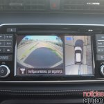 Nissan Kicks infotainment system parking camera
