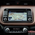 Nissan Kicks official image GPS navigation