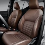 Nissan Kicks official image front seats
