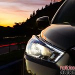 Nissan Kicks official image headlamp on