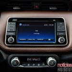 Nissan Kicks official image infotainment system second image