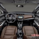 Nissan Kicks official image interior scheme