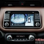 Nissan Kicks official image parking camera output