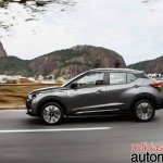 Nissan Kicks official image profile driving shot