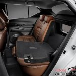 Nissan Kicks official image rear-seat folding
