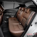 Nissan Kicks official image rear seats