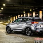 Nissan Kicks official image rear three quarters