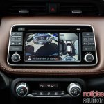 Nissan Kicks official image reversing camera output