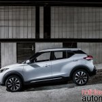 Nissan Kicks official image side profile