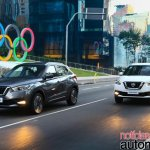 Nissan Kicks official image urban driving shot