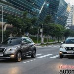 Nissan Kicks official image urban driving