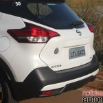 Nissan Kicks rear fascia
