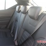 Nissan Kicks rear seats