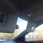 Nissan Kicks vanity mirror