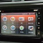 Perodua Bezza interior infotainment system