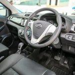 Perodua Bezza sedan interior launched for sale in Malaysia