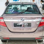 Perodua Bezza sedan rear launched for sale in Malaysia