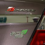 Perodua Bezza tailgate badge