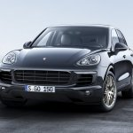 Porsche Cayenne Platinum Edition front three quarters