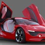 Renault DeZir concept front three quarters