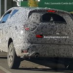 Renault Kaptur rear three quarters Brazil spy shot
