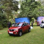 Renault Kwid front three quarters left side Kenya launch