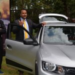 Renault Kwid silver second image Kenya launch