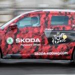 Skoda Kodiaq Tour De France side