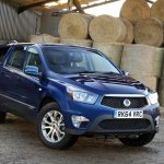 SsangYong Korando Sports front three quarters