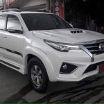 Styling kit front converts existing Toyota Fortuner to 2016 Toyota Fortuner