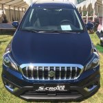 Suzuki S-Cross facelift front photographed