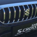 Suzuki S-Cross facelift grille photographed