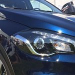 Suzuki S-Cross facelift headlamp photographed