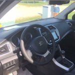 Suzuki S-Cross facelift interior photographed