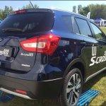 Suzuki S-Cross facelift rear photographed
