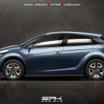 Tata X451 Premium Hatch Rendering