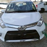 Toyota Calya front arrives at dealership