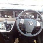 Toyota Calya interior dashboard driver side spy shot