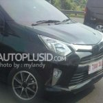 Toyota Calya spied Indonesia