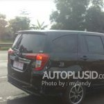 Toyota Calya spy shot Indonesia