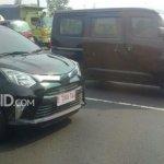 Toyota Calya spyshot Indonesia