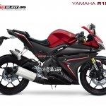 Yamaha R15 V 3.0 rendering